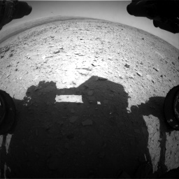 Nasa's Mars rover Curiosity acquired this image using its Front Hazard Avoidance Camera (Front Hazcam) on Sol 436, at drive 282, site number 21