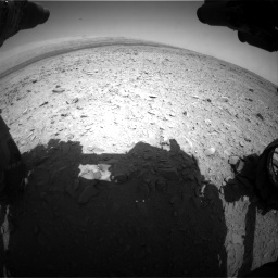 Nasa's Mars rover Curiosity acquired this image using its Front Hazard Avoidance Camera (Front Hazcam) on Sol 436, at drive 366, site number 21