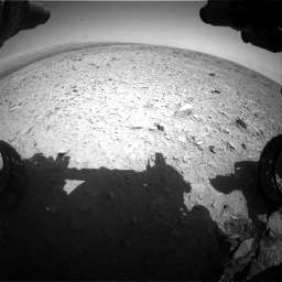 Nasa's Mars rover Curiosity acquired this image using its Front Hazard Avoidance Camera (Front Hazcam) on Sol 436, at drive 378, site number 21