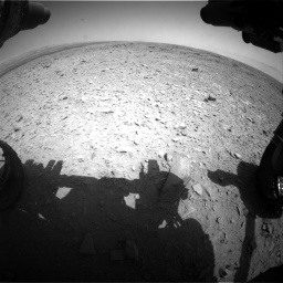 Nasa's Mars rover Curiosity acquired this image using its Front Hazard Avoidance Camera (Front Hazcam) on Sol 436, at drive 390, site number 21
