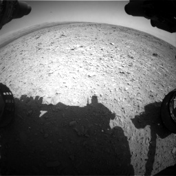 Nasa's Mars rover Curiosity acquired this image using its Front Hazard Avoidance Camera (Front Hazcam) on Sol 436, at drive 414, site number 21