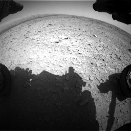 Nasa's Mars rover Curiosity acquired this image using its Front Hazard Avoidance Camera (Front Hazcam) on Sol 436, at drive 426, site number 21