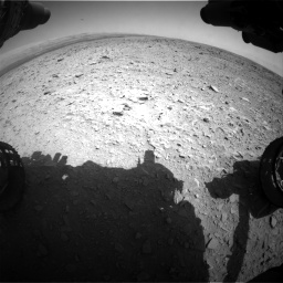 Nasa's Mars rover Curiosity acquired this image using its Front Hazard Avoidance Camera (Front Hazcam) on Sol 436, at drive 432, site number 21