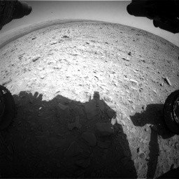 Nasa's Mars rover Curiosity acquired this image using its Front Hazard Avoidance Camera (Front Hazcam) on Sol 436, at drive 450, site number 21