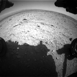 Nasa's Mars rover Curiosity acquired this image using its Front Hazard Avoidance Camera (Front Hazcam) on Sol 436, at drive 468, site number 21