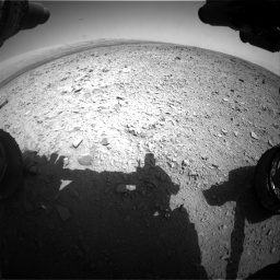 Nasa's Mars rover Curiosity acquired this image using its Front Hazard Avoidance Camera (Front Hazcam) on Sol 436, at drive 498, site number 21