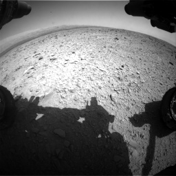 Nasa's Mars rover Curiosity acquired this image using its Front Hazard Avoidance Camera (Front Hazcam) on Sol 436, at drive 516, site number 21