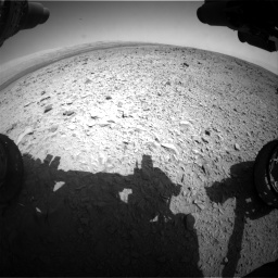 Nasa's Mars rover Curiosity acquired this image using its Front Hazard Avoidance Camera (Front Hazcam) on Sol 436, at drive 522, site number 21