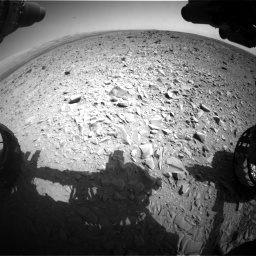 Nasa's Mars rover Curiosity acquired this image using its Front Hazard Avoidance Camera (Front Hazcam) on Sol 436, at drive 606, site number 21