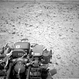 Nasa's Mars rover Curiosity acquired this image using its Left Navigation Camera on Sol 436, at drive 384, site number 21