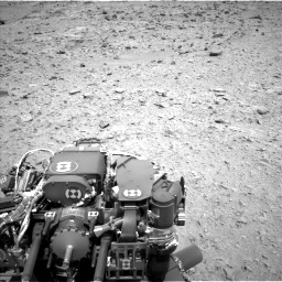 Nasa's Mars rover Curiosity acquired this image using its Left Navigation Camera on Sol 436, at drive 402, site number 21