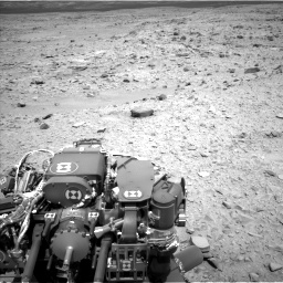 Nasa's Mars rover Curiosity acquired this image using its Left Navigation Camera on Sol 436, at drive 486, site number 21