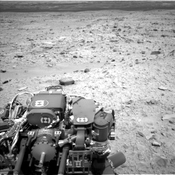 Nasa's Mars rover Curiosity acquired this image using its Left Navigation Camera on Sol 436, at drive 498, site number 21
