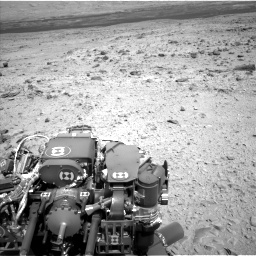 Nasa's Mars rover Curiosity acquired this image using its Left Navigation Camera on Sol 436, at drive 594, site number 21