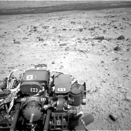 Nasa's Mars rover Curiosity acquired this image using its Left Navigation Camera on Sol 436, at drive 618, site number 21