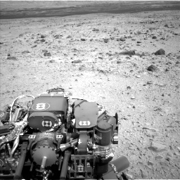 Nasa's Mars rover Curiosity acquired this image using its Left Navigation Camera on Sol 436, at drive 624, site number 21