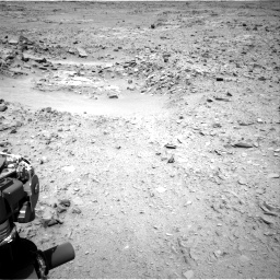 Nasa's Mars rover Curiosity acquired this image using its Right Navigation Camera on Sol 436, at drive 318, site number 21
