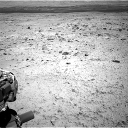 Nasa's Mars rover Curiosity acquired this image using its Right Navigation Camera on Sol 436, at drive 552, site number 21