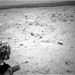 Nasa's Mars rover Curiosity acquired this image using its Right Navigation Camera on Sol 436, at drive 576, site number 21
