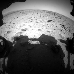 Nasa's Mars rover Curiosity acquired this image using its Front Hazard Avoidance Camera (Front Hazcam) on Sol 437, at drive 754, site number 21
