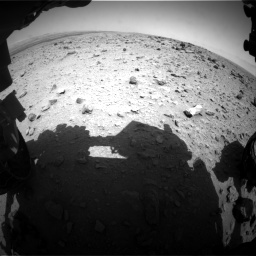 Nasa's Mars rover Curiosity acquired this image using its Front Hazard Avoidance Camera (Front Hazcam) on Sol 437, at drive 790, site number 21