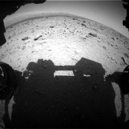 NASA's Mars rover Curiosity acquired this image using its Front Hazard Avoidance Cameras (Front Hazcams) on Sol 437