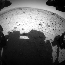 Nasa's Mars rover Curiosity acquired this image using its Front Hazard Avoidance Camera (Front Hazcam) on Sol 437, at drive 796, site number 21