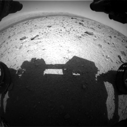 Nasa's Mars rover Curiosity acquired this image using its Front Hazard Avoidance Camera (Front Hazcam) on Sol 437, at drive 832, site number 21
