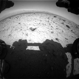 Nasa's Mars rover Curiosity acquired this image using its Front Hazard Avoidance Camera (Front Hazcam) on Sol 437, at drive 862, site number 21