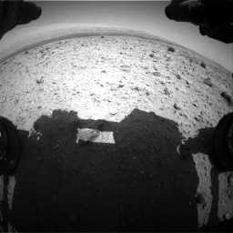 Nasa's Mars rover Curiosity acquired this image using its Front Hazard Avoidance Camera (Front Hazcam) on Sol 437, at drive 874, site number 21