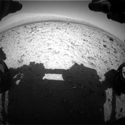 Nasa's Mars rover Curiosity acquired this image using its Front Hazard Avoidance Camera (Front Hazcam) on Sol 437, at drive 886, site number 21