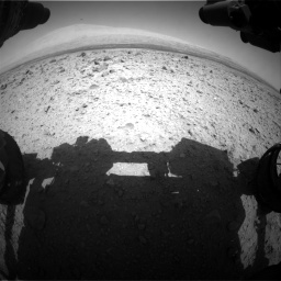 Nasa's Mars rover Curiosity acquired this image using its Front Hazard Avoidance Camera (Front Hazcam) on Sol 437, at drive 898, site number 21