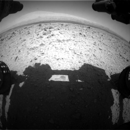 Nasa's Mars rover Curiosity acquired this image using its Front Hazard Avoidance Camera (Front Hazcam) on Sol 437, at drive 904, site number 21