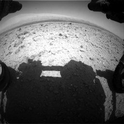 Nasa's Mars rover Curiosity acquired this image using its Front Hazard Avoidance Camera (Front Hazcam) on Sol 437, at drive 916, site number 21