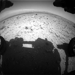 Nasa's Mars rover Curiosity acquired this image using its Front Hazard Avoidance Camera (Front Hazcam) on Sol 437, at drive 928, site number 21