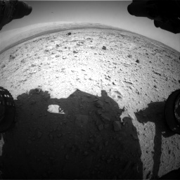 Nasa's Mars rover Curiosity acquired this image using its Front Hazard Avoidance Camera (Front Hazcam) on Sol 437, at drive 952, site number 21