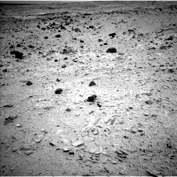 Nasa's Mars rover Curiosity acquired this image using its Left Navigation Camera on Sol 437, at drive 652, site number 21