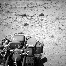 Nasa's Mars rover Curiosity acquired this image using its Left Navigation Camera on Sol 437, at drive 664, site number 21
