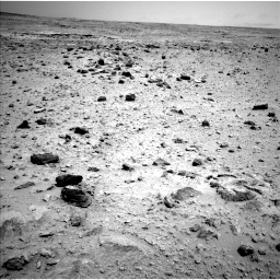 Nasa's Mars rover Curiosity acquired this image using its Left Navigation Camera on Sol 437, at drive 700, site number 21