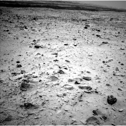 Nasa's Mars rover Curiosity acquired this image using its Left Navigation Camera on Sol 437, at drive 718, site number 21
