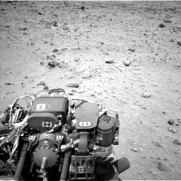 Nasa's Mars rover Curiosity acquired this image using its Left Navigation Camera on Sol 437, at drive 760, site number 21