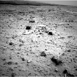 Nasa's Mars rover Curiosity acquired this image using its Left Navigation Camera on Sol 437, at drive 862, site number 21