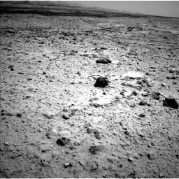 Nasa's Mars rover Curiosity acquired this image using its Left Navigation Camera on Sol 437, at drive 880, site number 21
