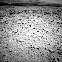 Nasa's Mars rover Curiosity acquired this image using its Left Navigation Camera on Sol 437, at drive 892, site number 21