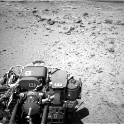 Nasa's Mars rover Curiosity acquired this image using its Left Navigation Camera on Sol 437, at drive 898, site number 21