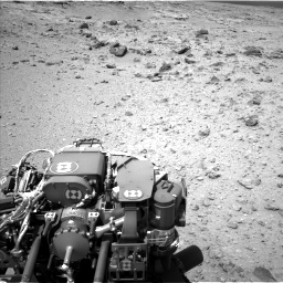 Nasa's Mars rover Curiosity acquired this image using its Left Navigation Camera on Sol 437, at drive 904, site number 21
