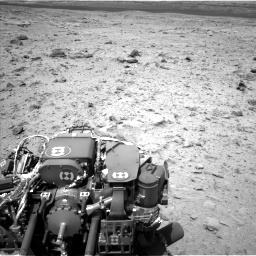 Nasa's Mars rover Curiosity acquired this image using its Left Navigation Camera on Sol 437, at drive 928, site number 21
