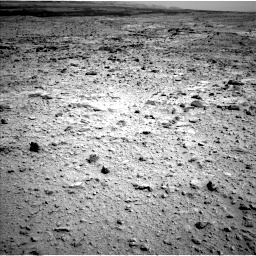 Nasa's Mars rover Curiosity acquired this image using its Left Navigation Camera on Sol 437, at drive 934, site number 21