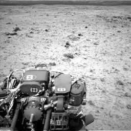 Nasa's Mars rover Curiosity acquired this image using its Left Navigation Camera on Sol 437, at drive 952, site number 21