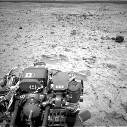 Nasa's Mars rover Curiosity acquired this image using its Left Navigation Camera on Sol 437, at drive 994, site number 21